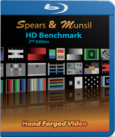 Spears & Munsil HD Benchmark 3D Blu-ray/DVD 2nd Edition (Open Box)