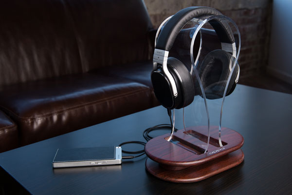 HA-2 with PM-3 and headphone stand